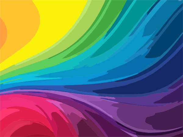 Abstract Rainbow Background Clip Art at Clker.com.