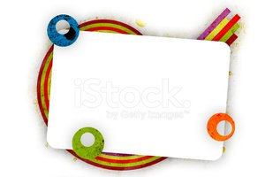 Grunge Abstract Frame Stock Vector.
