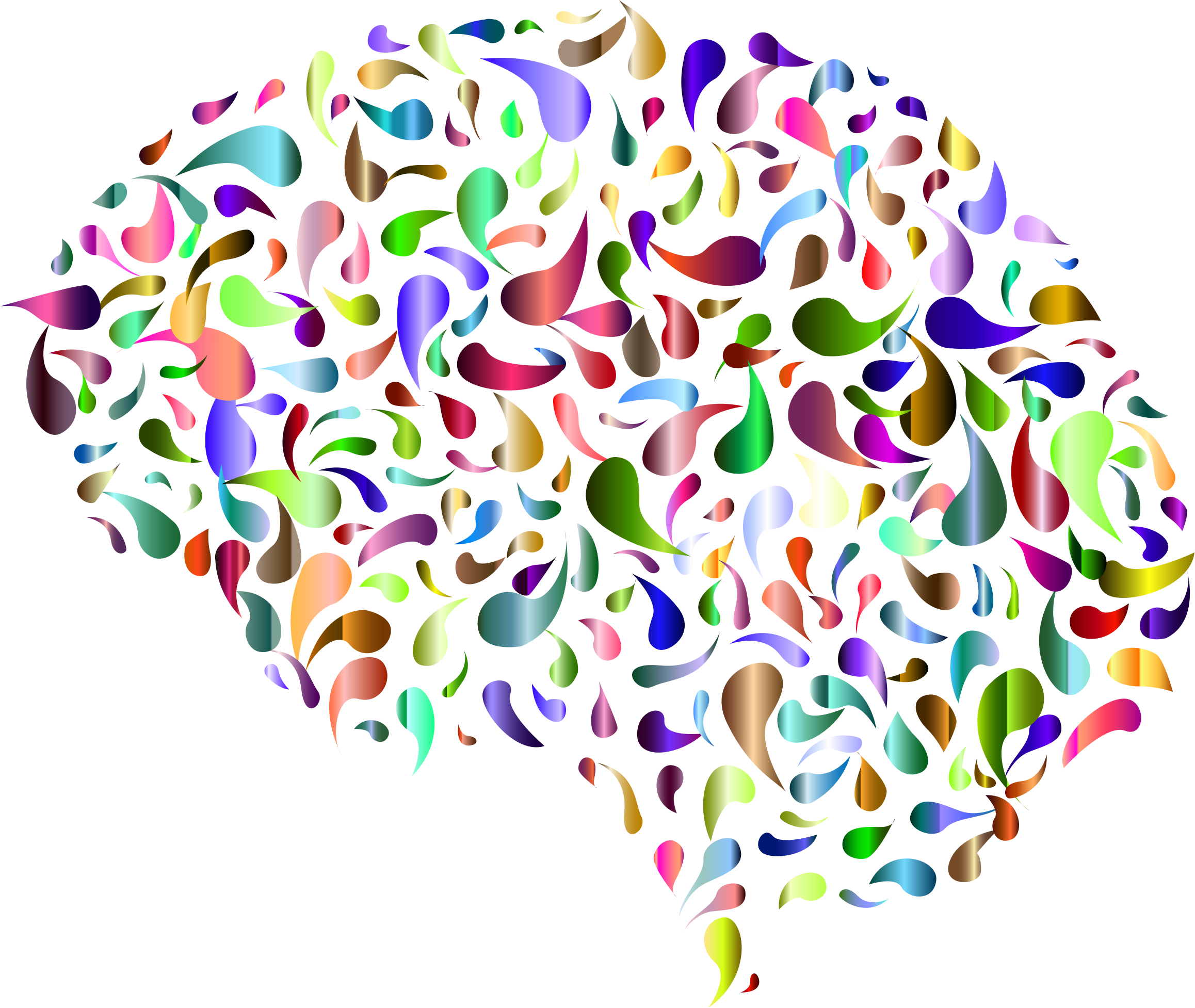 Clipart brain abstract, Clipart brain abstract Transparent.