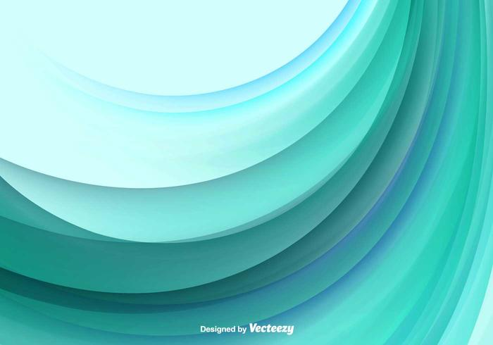 Color Abstract Wave Vector Background.