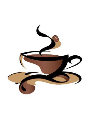 Pin on Silhouette design. Coffee mug.