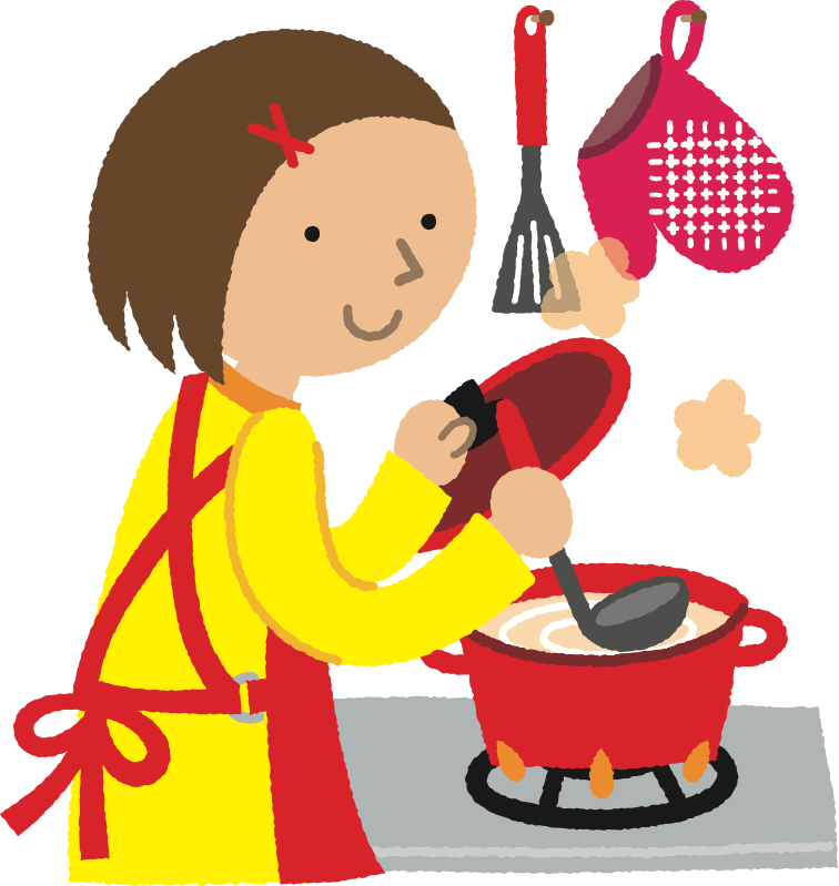 Cooking Food Nabemono Dak.