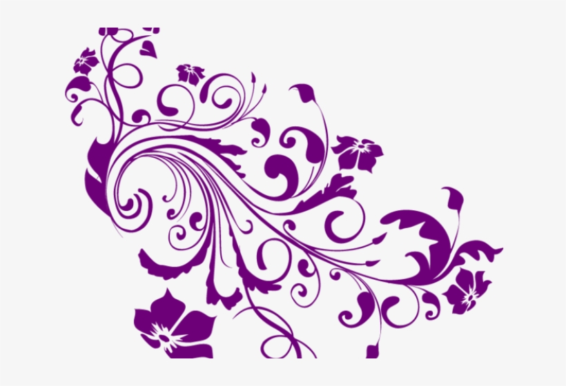 Swirls Clipart Colored.