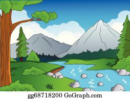 Creek Clip Art.