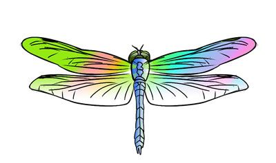 Free Clipart Dragonfly.