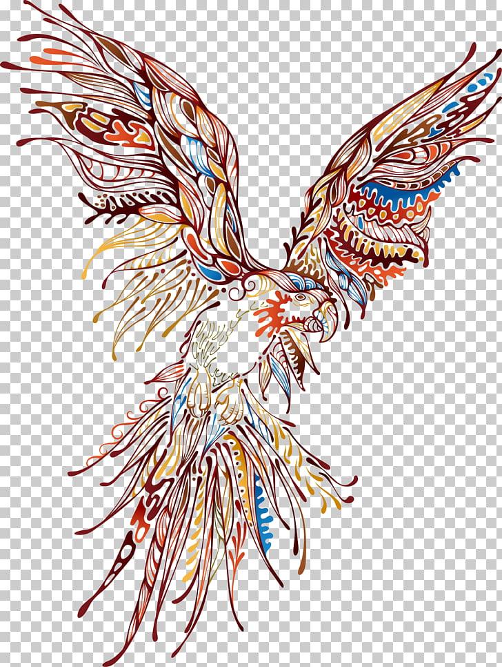 Animal Abstract art, Eagle Printing PNG clipart.