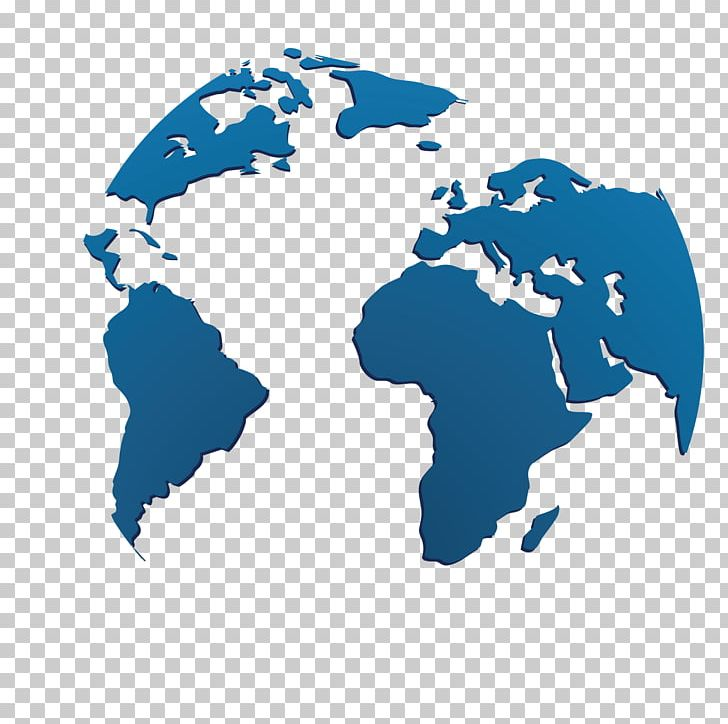 Earth Globe World Map PNG, Clipart, Blue, Blue Abstract.