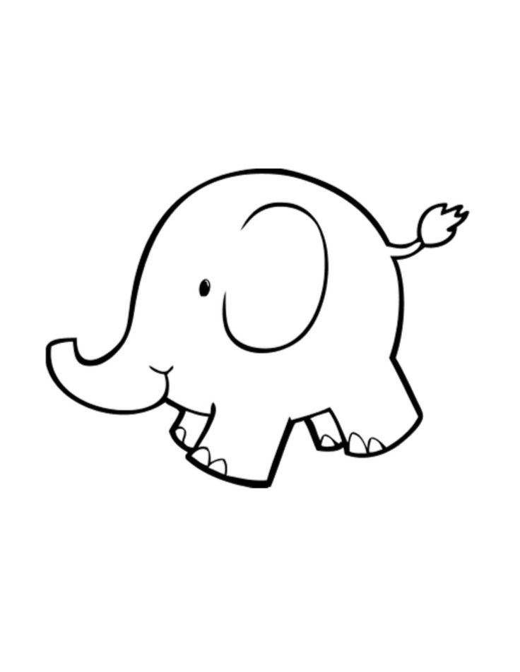 17 Best ideas about Elephant Outline on Pinterest.