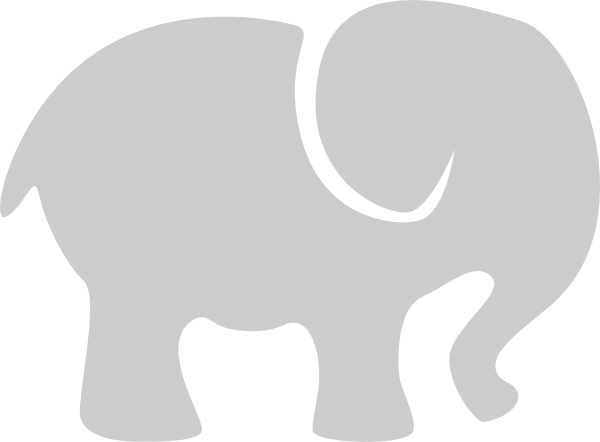 Elephant Abstract Clip Art at Clker.com.