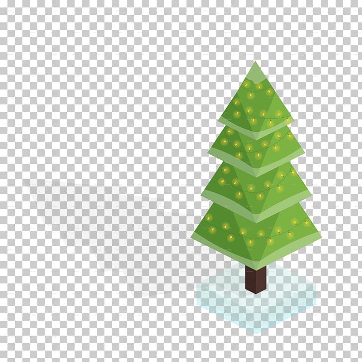 Christmas tree Christmas ornament, abstract christmas tree.