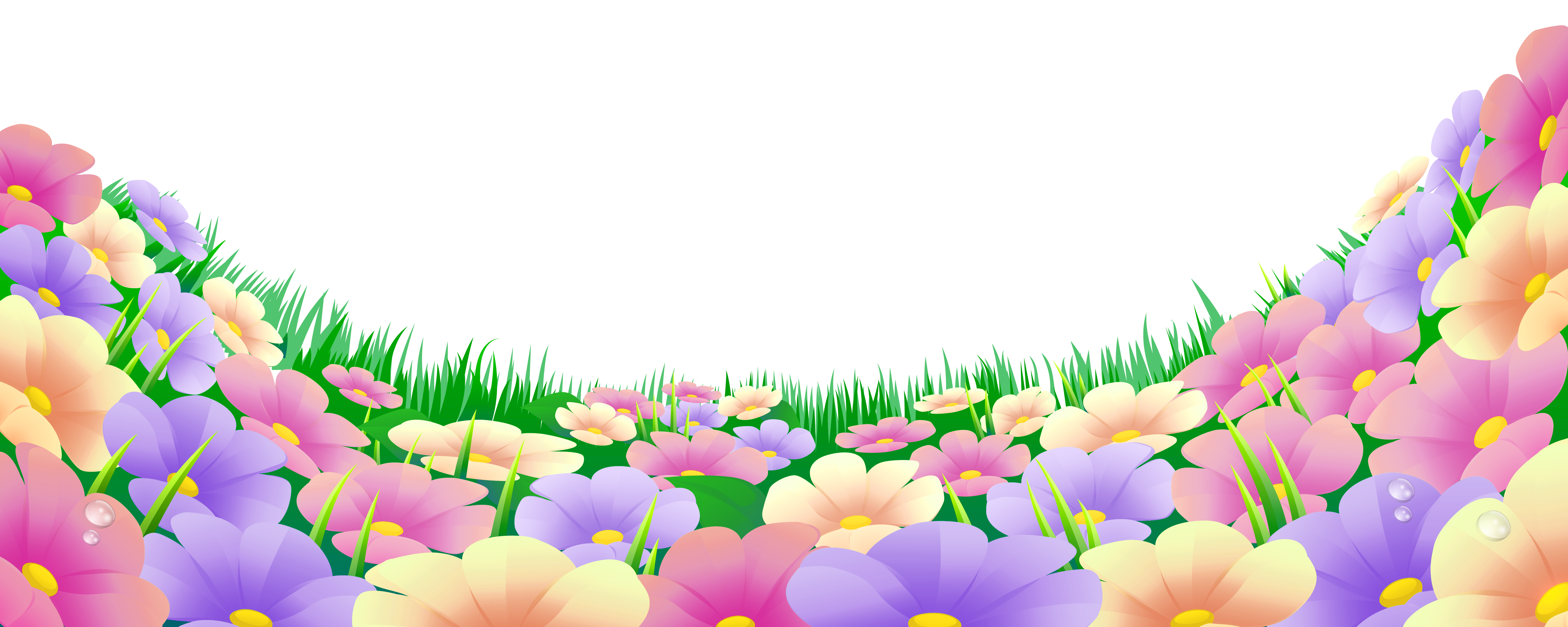 Garden Background Clipart Png.