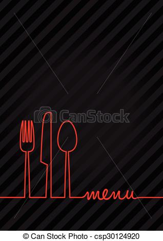 abstract food menu background.