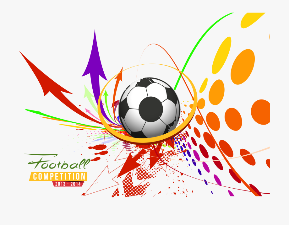 Vector Poster Football Sport Sports Free Transparent.