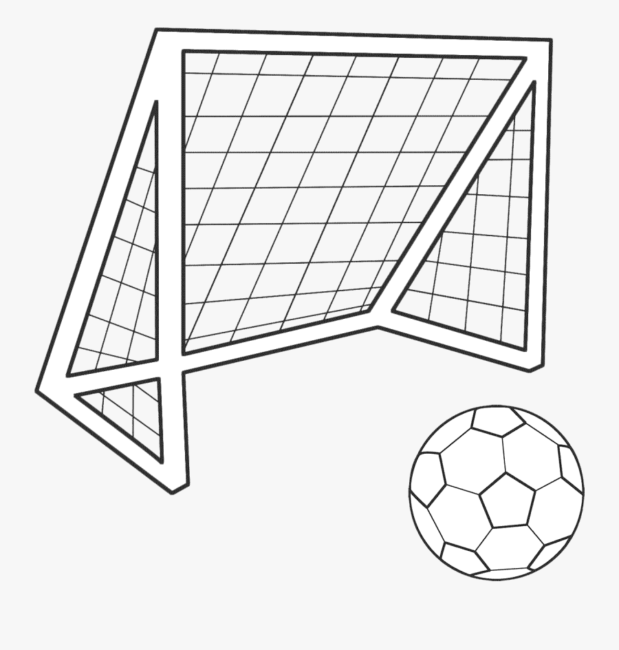 Transparent Football Goal Png.