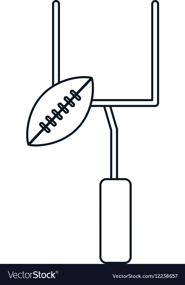 Abstract football goal post clipart clipart images gallery.