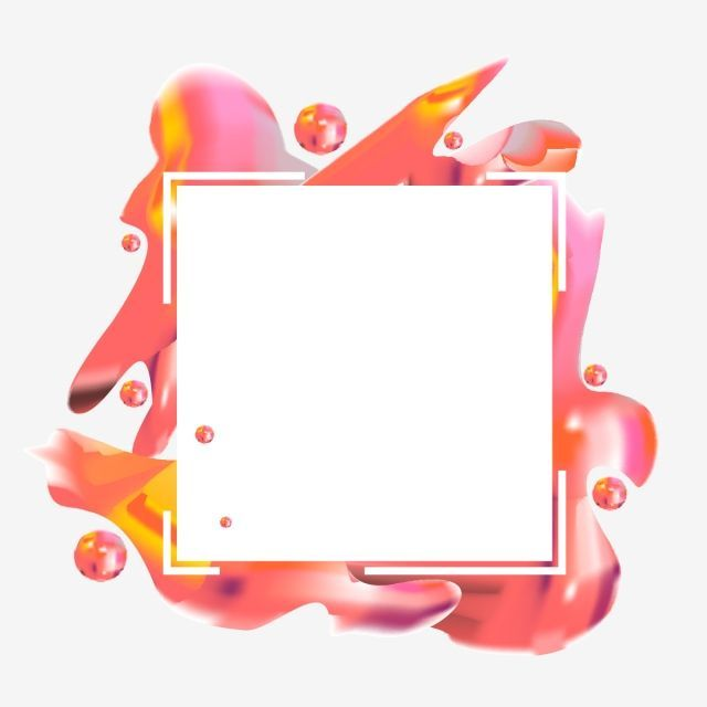 Colorful Abstract Frame Border. in 2019.