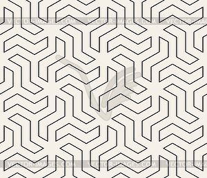 Seamless geometric pattern. Simple abstract lines.