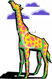 Abstract Giraffe.