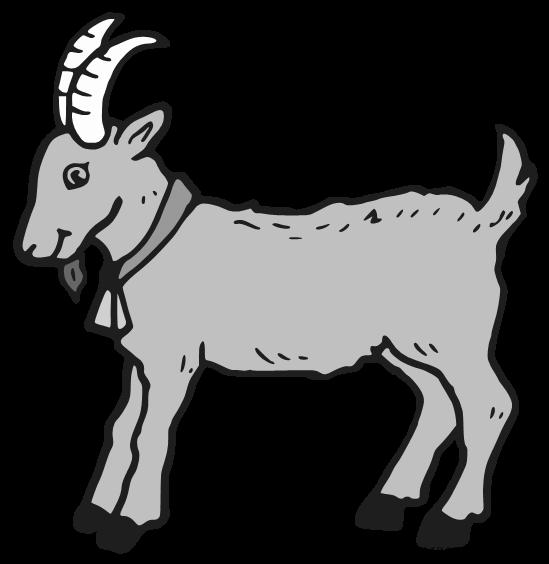 Clipart goat grey goat, Clipart goat grey goat Transparent.