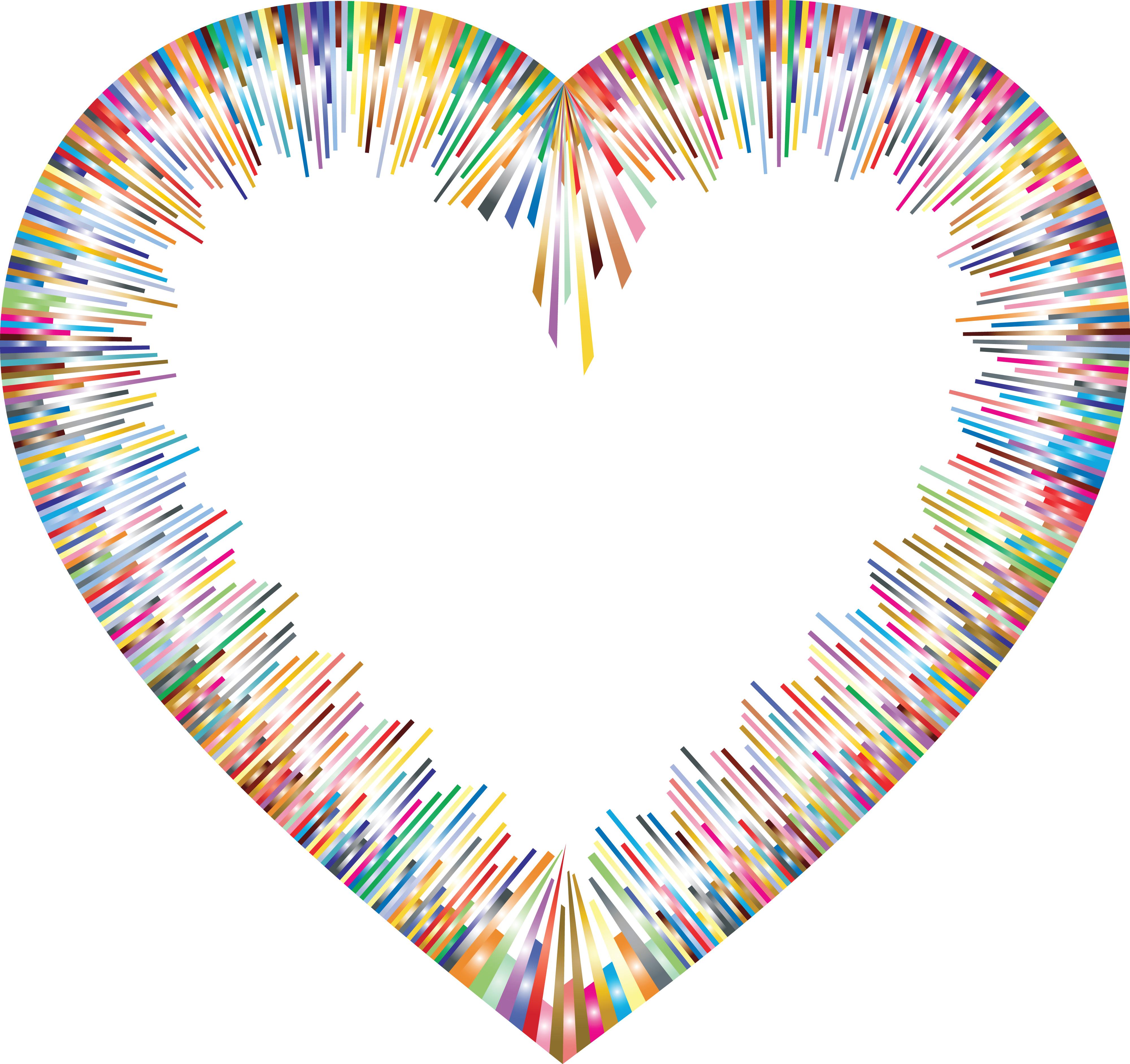 565 Heart Border free clipart.