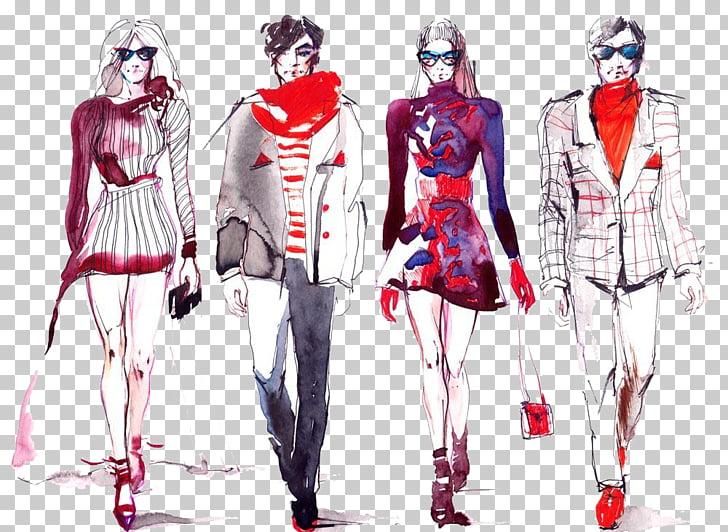 Fast fashion Fashion show Model Fashion blog, Color ink men.