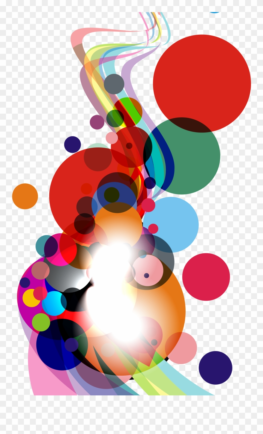 Vector Abstracts Curve.