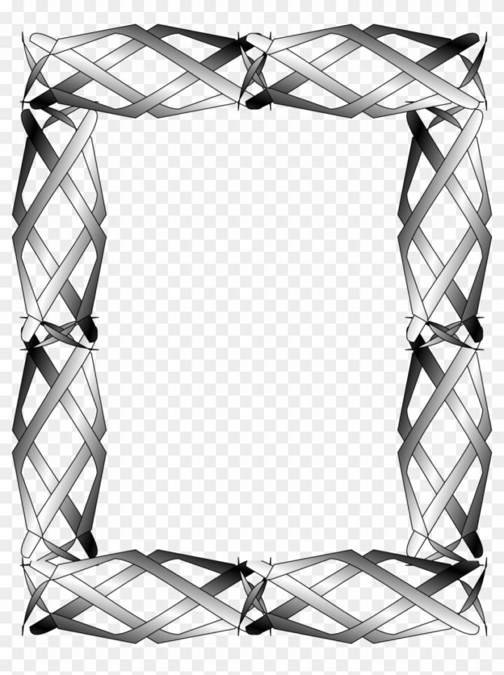 Abstract Clipart Border Frame Image Provided.