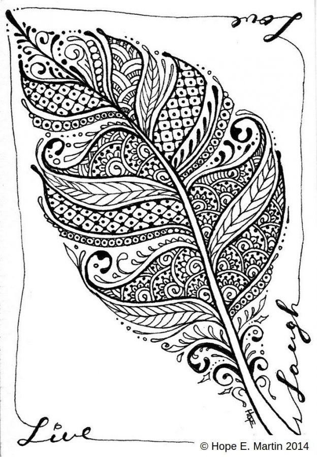 Coloring Pages For Adults Abstract.