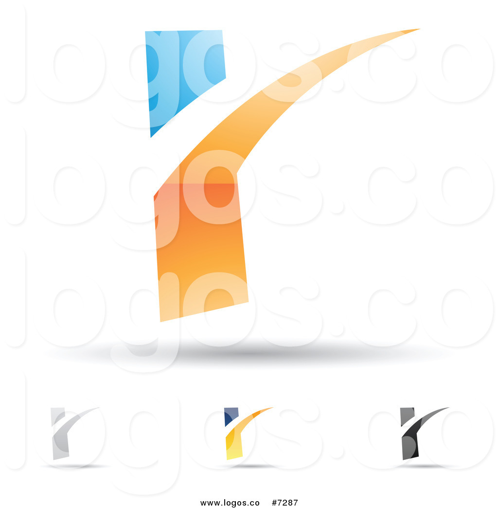 Royalty Free Clip Art Vector Logos of Abstract Letter R.