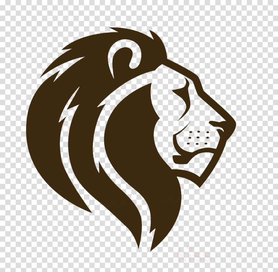 face head lion roar clip art clipart.