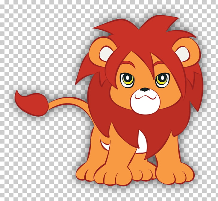 Lion Tiger Illustration, Abstract animal PNG clipart.