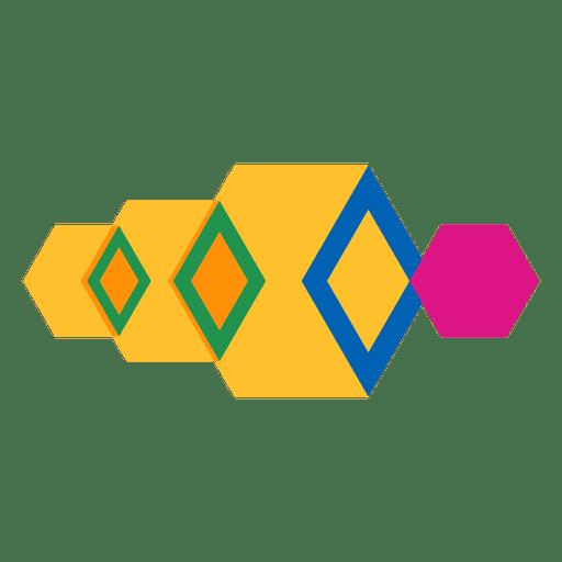 Geometric abstract logo.