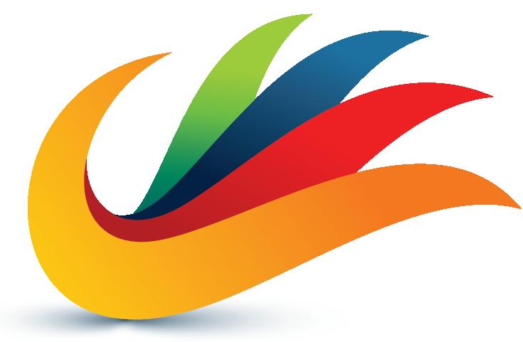 Abstract Logo hand.