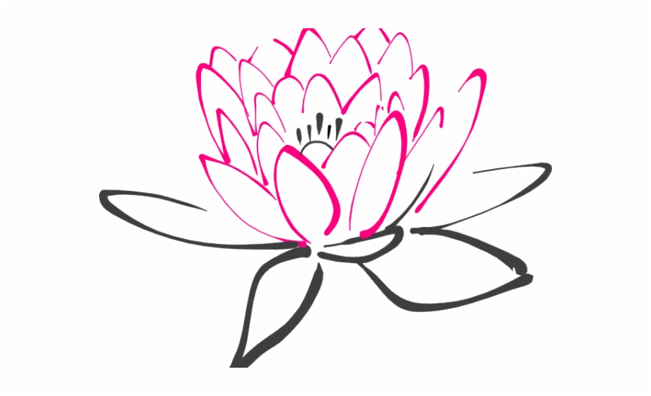 Lotus Clipart Abstract Flower.