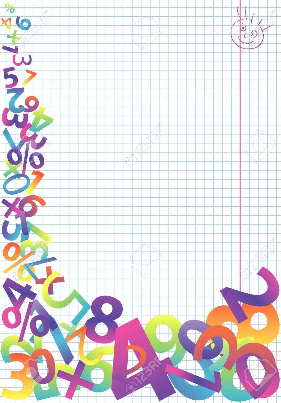 Math Clipart Background.