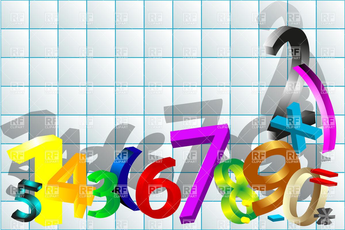 Mathematics Background Clipart.