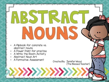 Abstract Nouns Pack.