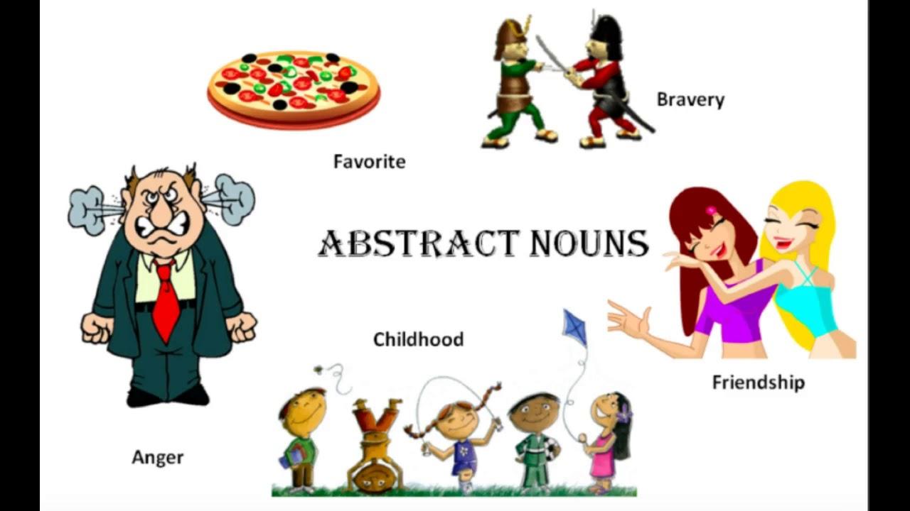 Concrete vs. Abstract Nouns.