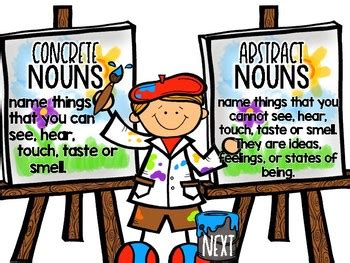 Nouns Using Abstract Essay.