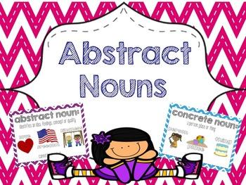 Abstract Nouns (CCSS Aligned Mini Bundle).