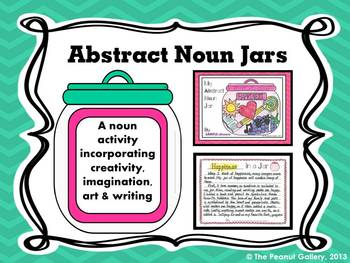 Abstract Noun Jars (Art/Writing Activity).