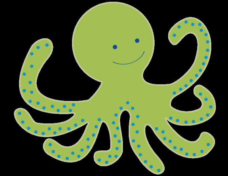 Octopus Cuteness Clip art.