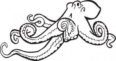 Free Octopus Cliparts in AI, SVG, EPS or PSD.