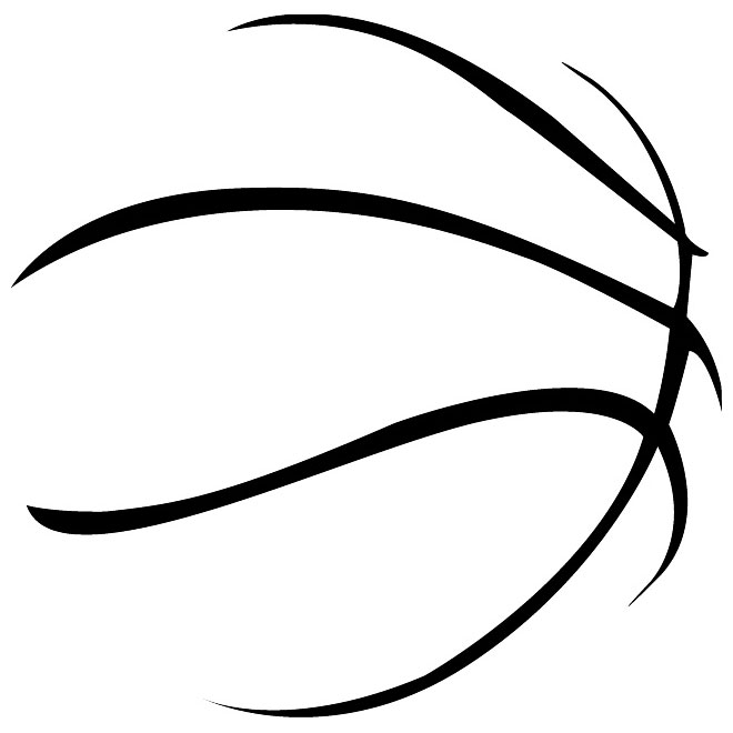 Abstract Basketball Clipart.