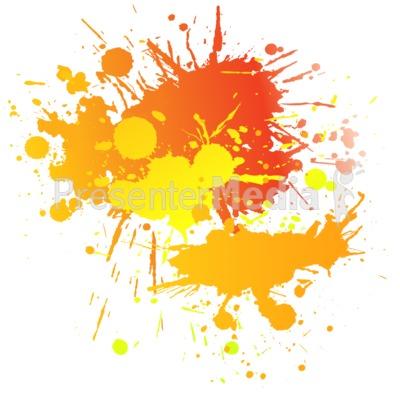 Painting Splatter Complimentary.