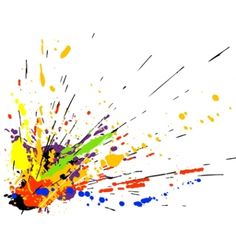 Abstract Paint Clipart.