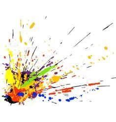 Image result for 90's splatter paint.