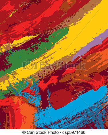Vector of abstract painting background illustration csp5971468.