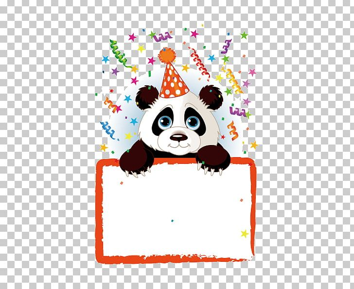 Giant Panda Birthday Stock Photography PNG, Clipart.