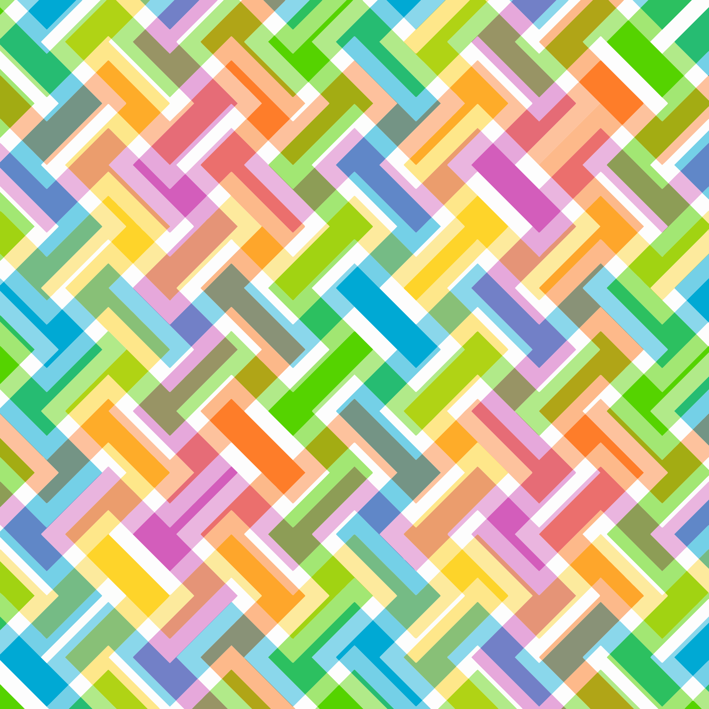 Free Colorful Geometric Wallpaper: Abstract Pattern Clipart